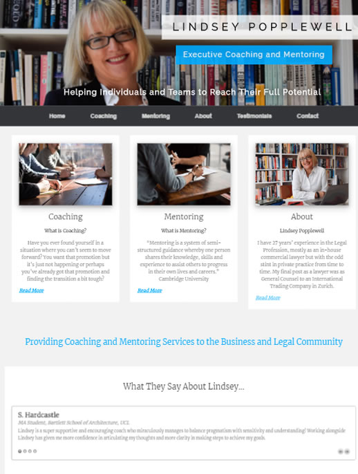 Lindsey Popplewell - A Commerce site by Spa Web Design