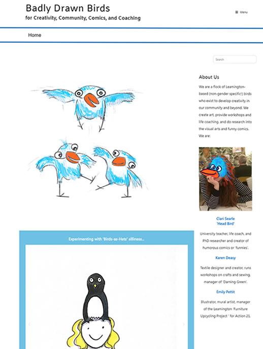 Badly Drawn Birds - A PHD Thesis